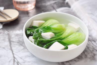 青菜豆腐汤2