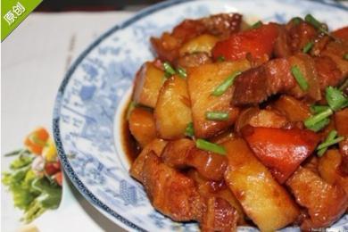 五花肉烧粽子3