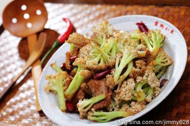 干煸花椰菜4