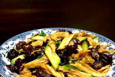 腐竹木耳拌黄瓜2