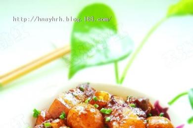 栗子红烧肉1