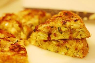 土豆泥山药饼4