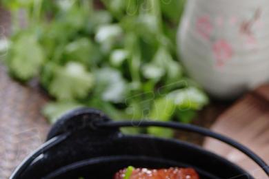 五花肉烧粽子2