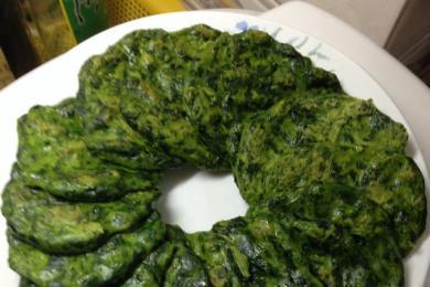 菠菜煎饼4