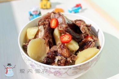排骨炖土豆4