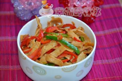 素炒鱼香肉丝1