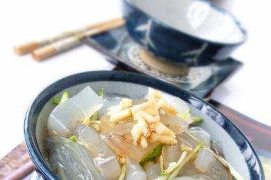 小白菜拌黄瓜2