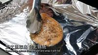 日日煮烹饪短片香烤挪威三文鱼伴蔬菜土豆泥