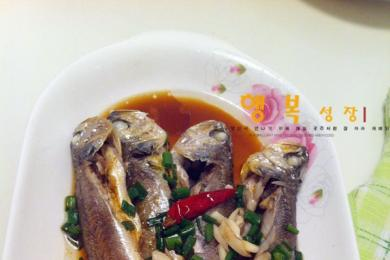 咸菜卤蒸梅童鱼1