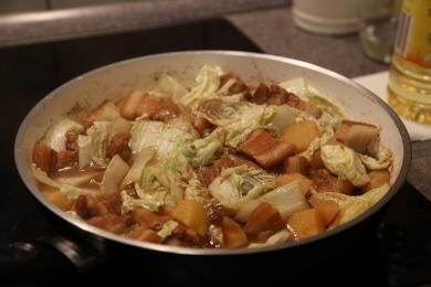 红烧肉炖土豆4