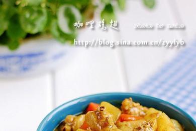 咖喱鸡翅1