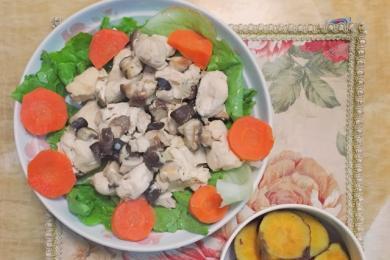 香蒸鸡胸肉3