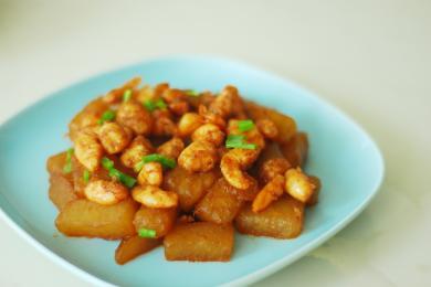 冬瓜炒虾仁3
