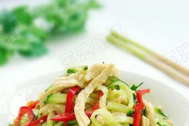 小白菜拌黄瓜4