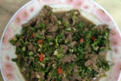 芫荽炒牛肉3