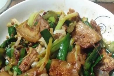 蒜香回锅肉3