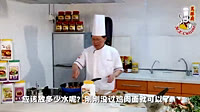 亚洲厨泰国红咖喱鸡