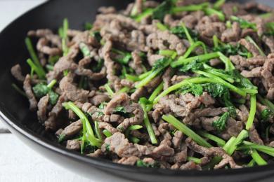 芫荽炒牛肉4