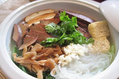 鸭血豆腐汤4