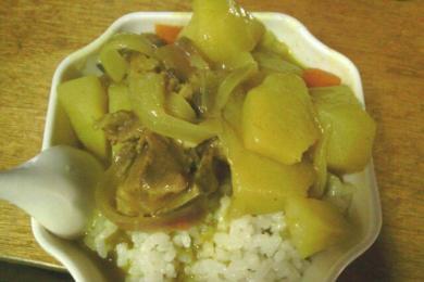 咖喱土豆炖排骨2