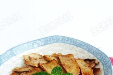 香煎杏鲍菇3