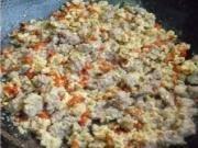 羊肉末炒鸡蛋的做法