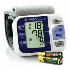 欧姆龙 HEM-6021 腕式电子血压计