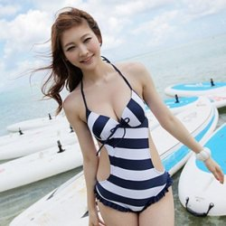 韩国美女比基尼图片 小小的一片遮不住的诱惑