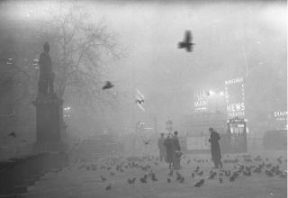 """伦敦受重度雾霾侵袭   市长称:空气已""""毒""""到令人羞愧"""