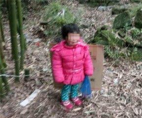 2岁女童寒风中被拴外婆坟前 竟是生父为逼母亲现身