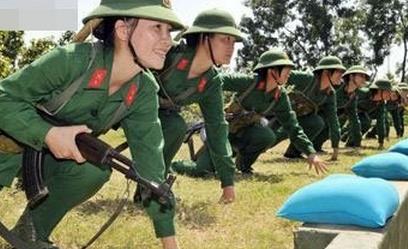 越南女兵不穿内衣真相 裸体诱惑香艳无比