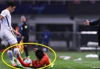 苍天饶过谁!韩国球员因小动作被暴打 飞踹+组合直接被打傻