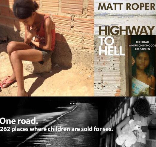 """巴西高速路9岁""""童妓""""的地狱人生:接客78元一次挣扎度日!"""