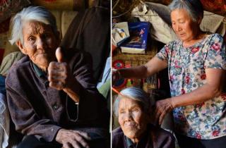 """63岁媳妇独守""""狼窝村""""  只为照顾聋哑婆婆!"""