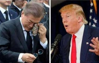 """不要脸了!文在寅跪舔特朗普,却要求中方取消""""限韩令""""?"""