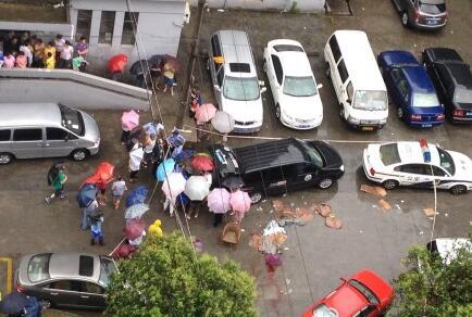 """""""高空坠物砸死人""""176名住户均被告 原告律师:不在家的也要赔"""