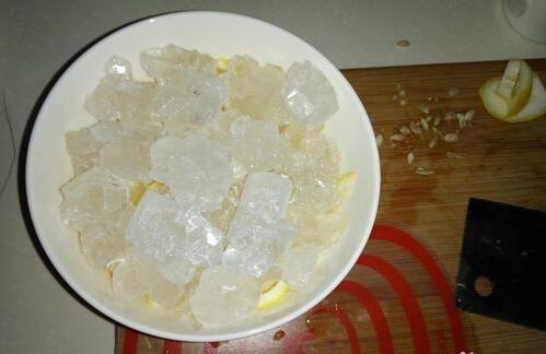 冰糖柠檬怎么处理,有哪些步骤?