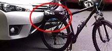 撞上自行车卡罗拉车主竟破产