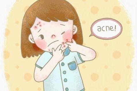 嘴巴周围长痘痘的原因及处理方法图片