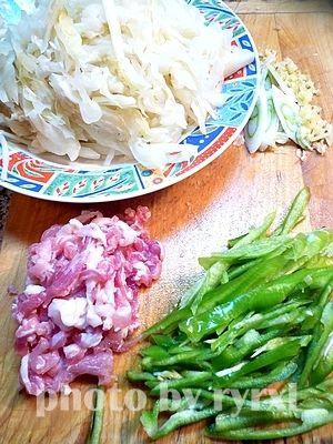 尖椒肉丝的做法