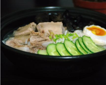 猪肚排骨米粉的茭白做法炒砂锅图片