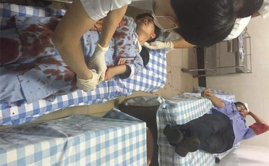 惠州18岁女护士被病人割断手筋 未涉医患纠纷