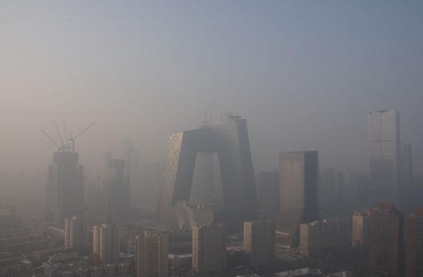 北京发空气重污染橙色预警指令