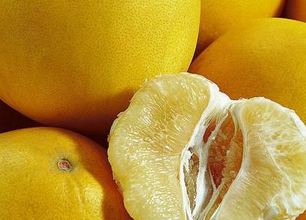 排毒养颜的最佳减肥食物-柚子