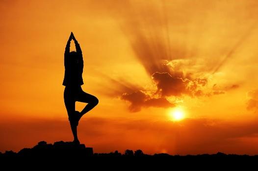 瑜伽运动既可以调理肠胃也可以减肥瘦身