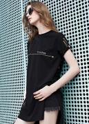 欧美街拍个性t恤设计抢镜  这个夏天让你引领潮流前线