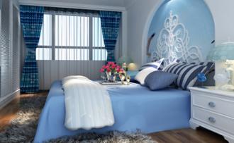 家居装饰设计:梦幻海洋主题,让家和心一起清凉过夏天