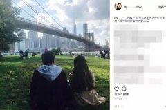 周杰伦发文感叹心又飞到了纽约,看来他在炫妻的路上要越...