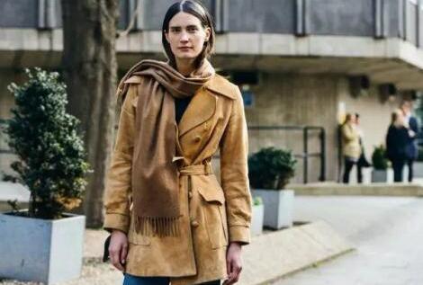 围巾这样搭配,搞定你今冬的时尚感