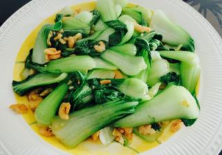 海米油菜的做法介绍
